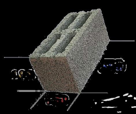 Перегородочные блоки из керамзитобетона