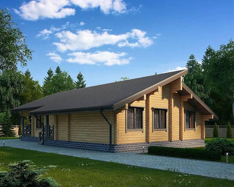 Одноэтажный дом для большой семьи: преимущества и недостатки