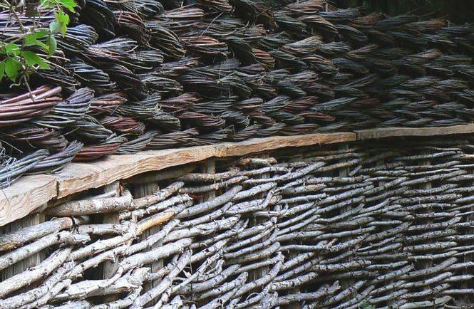 Плетеный забор из досок, плетеный забор из досок и веток своими руками