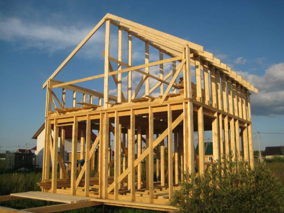 Технология и этапы строительства каркасного дома