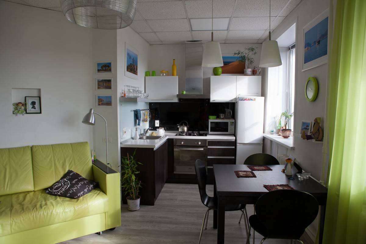 Перепланировка хрущевки: фото дизайна 2-комнатной квартиры