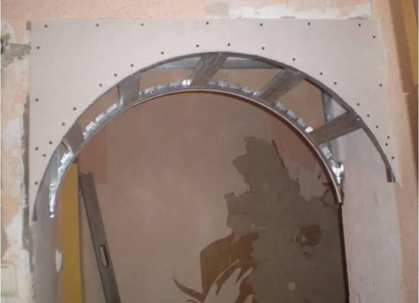 Как сделать арку из гипсокартона своими руками: пошаговая инструкция с фото и видео