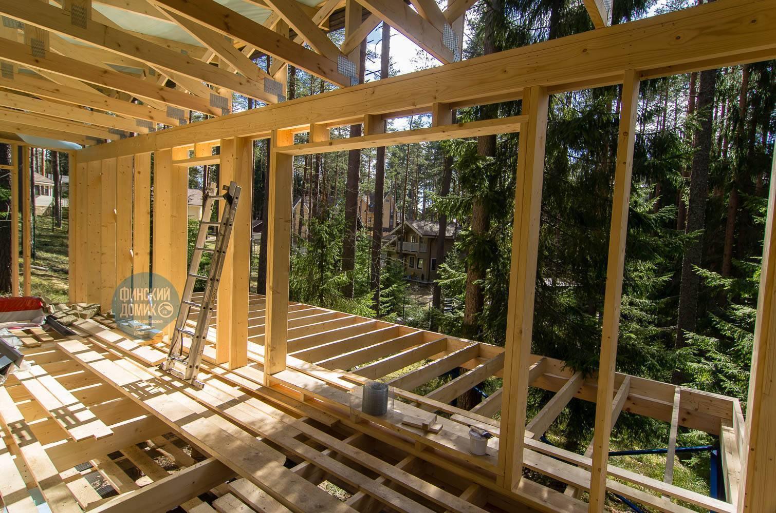 Cтроительство каркасных домов по финской технологии