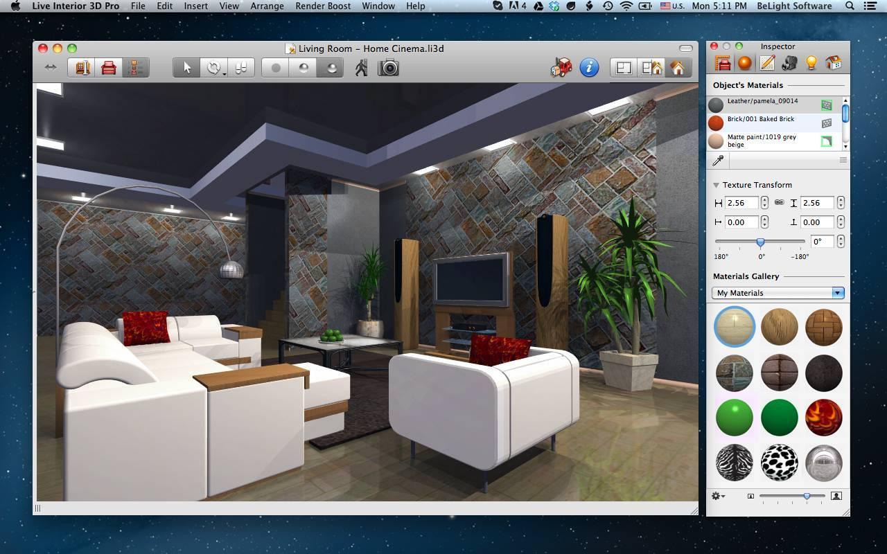 Дизайнерские программы по созданию интерьера - обзор и описание
