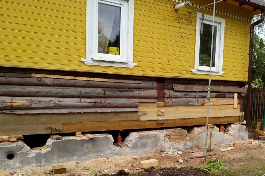 Способы ремонта старого фундамента дома