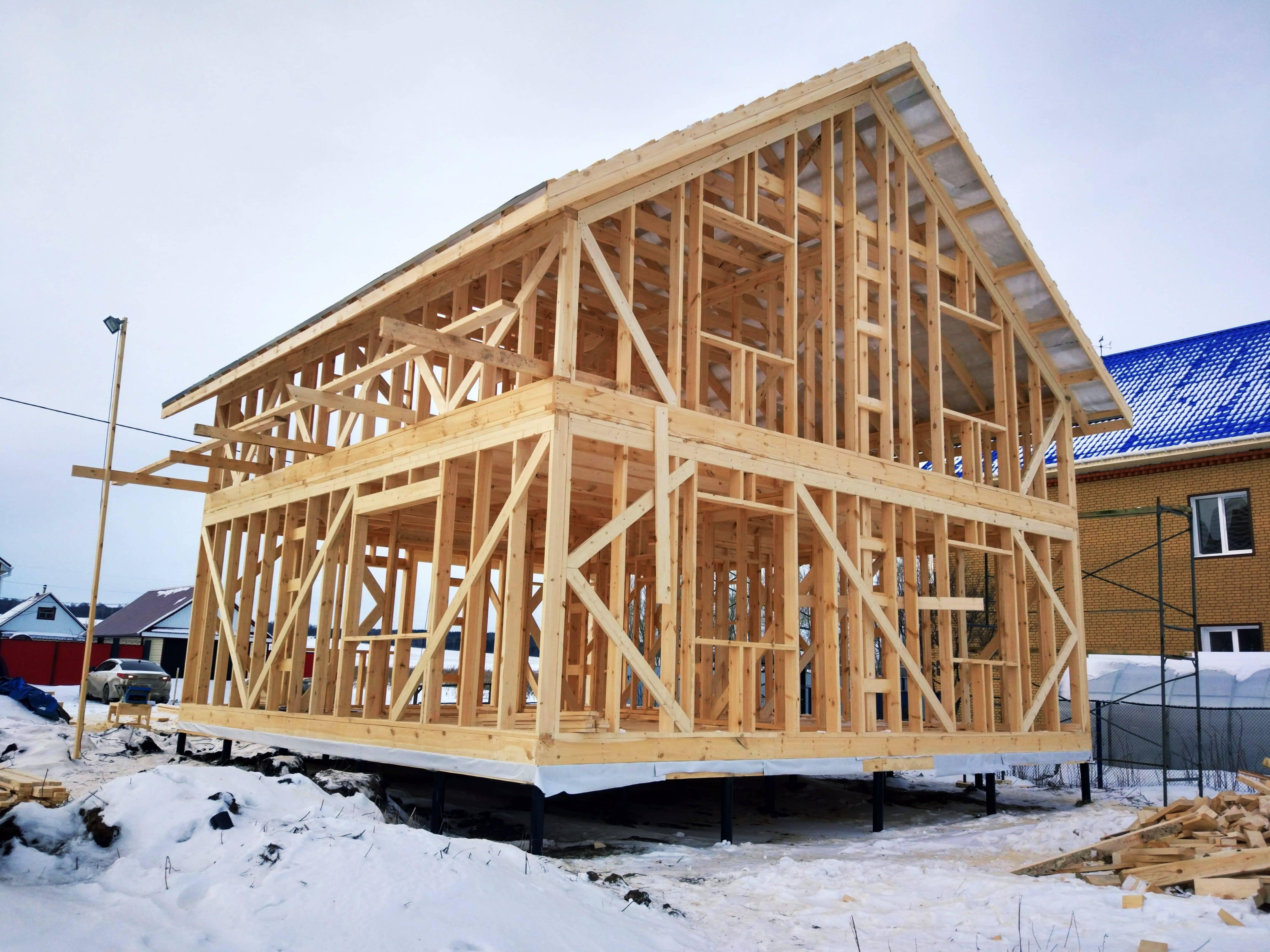 """Что такое каркасный дом """"платформа"""": технология строительства и особенности монтажа"""