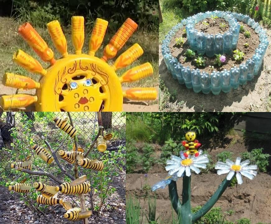 Новинки поделок для сада: 125 фото и видео изготовления своими руками поделок для сада