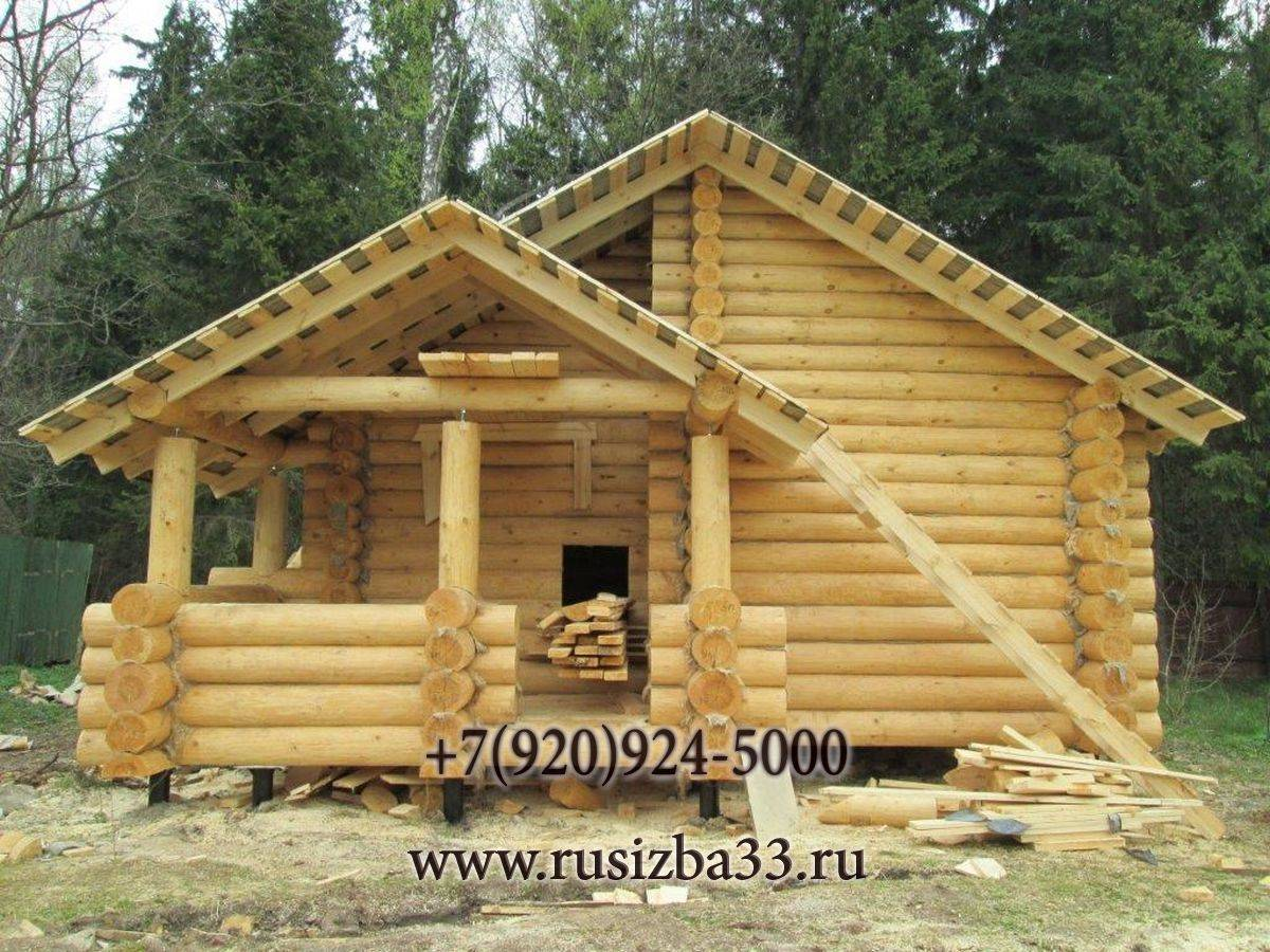 Дом из оцилиндрованного бревна: отзывы владельцев, проекты и строительство