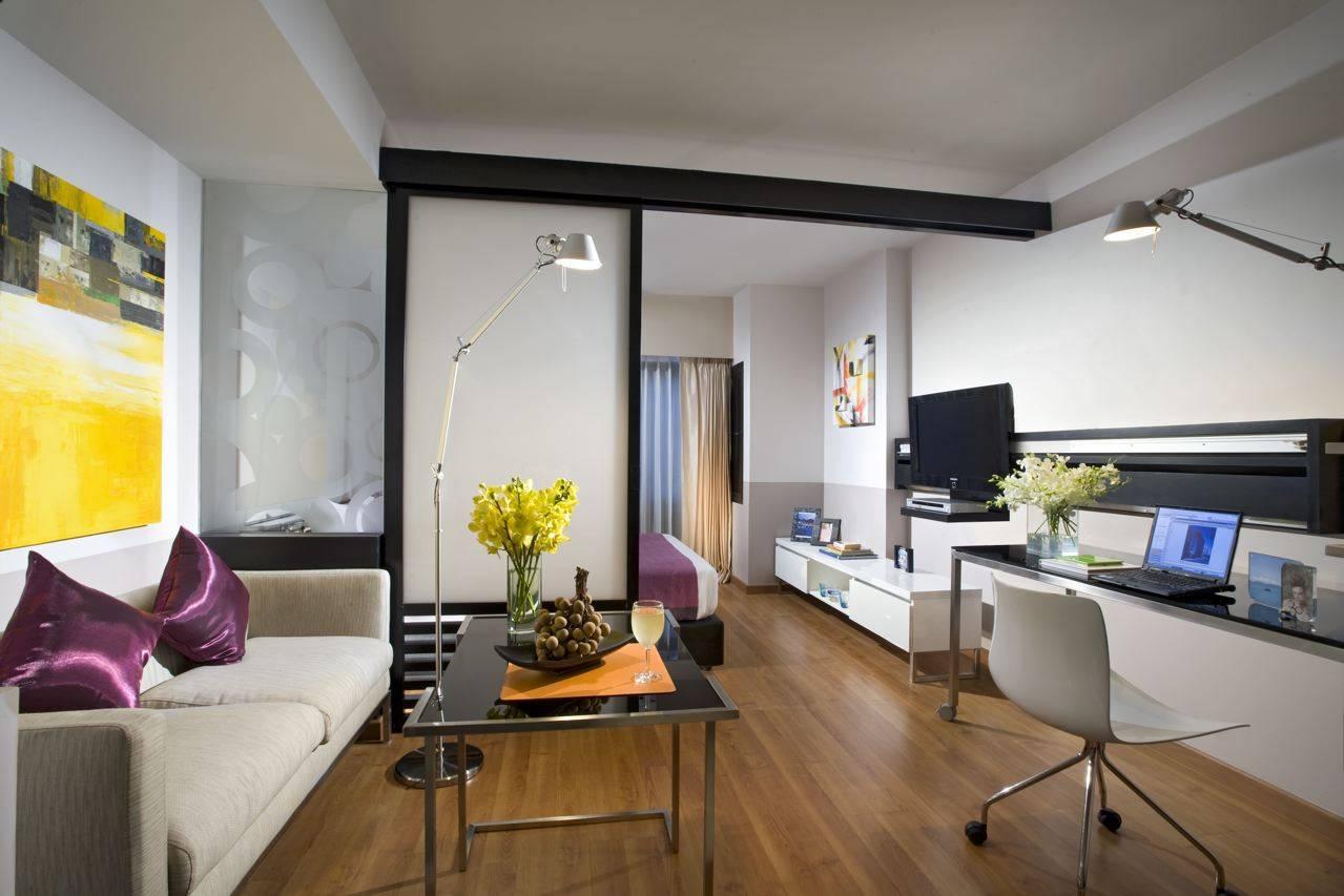Дизайн квартиры-студии (65 фото) | лучшие идеи !!!