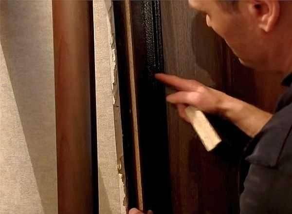 Делаем откосы на двери из мдф, ламинированного дсп, ламината - постройки