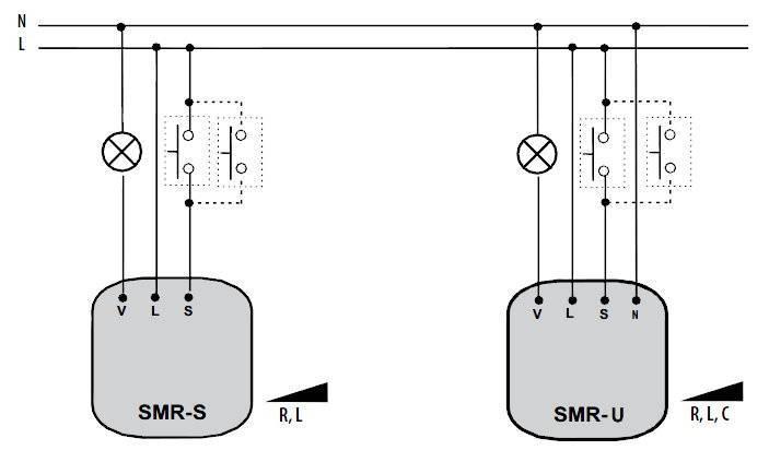Как подключить диммер вместо выключателя - всё о электрике в доме