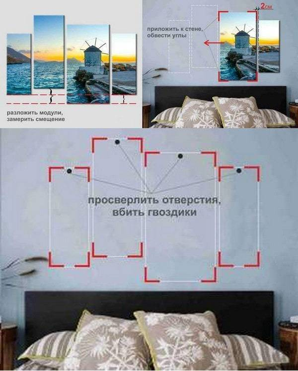 12 способов, как повесить на стену без гвоздей картину, рамку, плакат или декоративную тарелку | строительный блог вити петрова