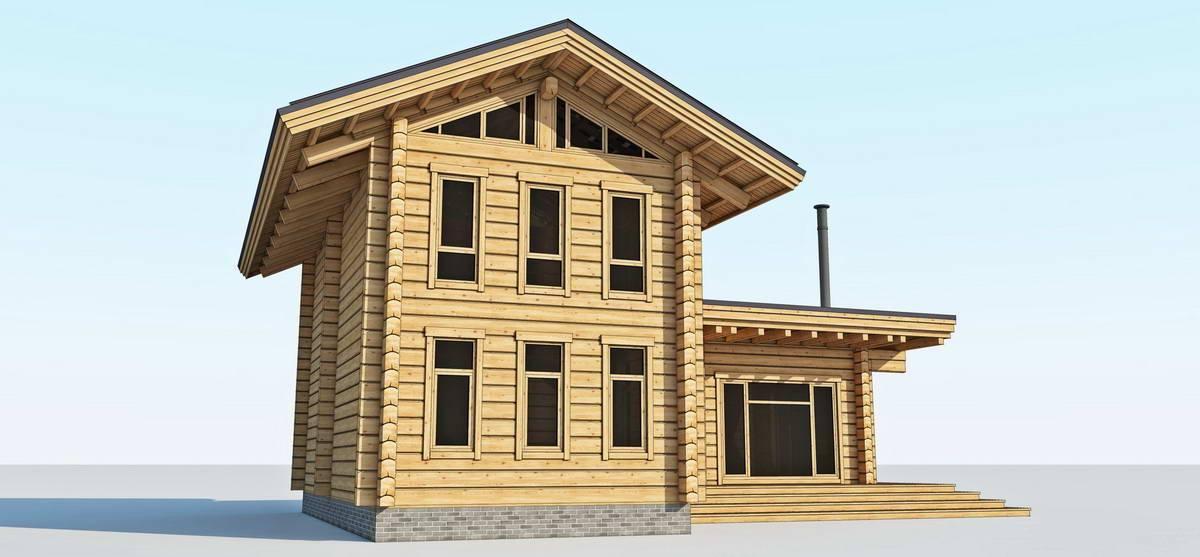 Строительство дома из лафета: преимущества и недостатки