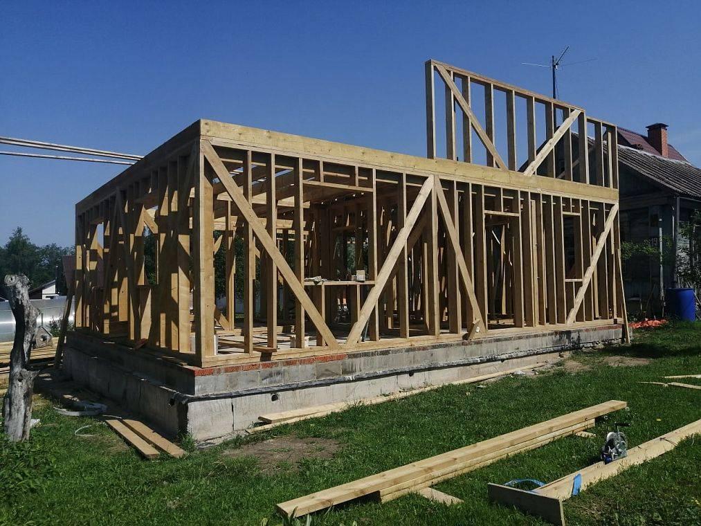 Строительство каркасного дома по финской технологии