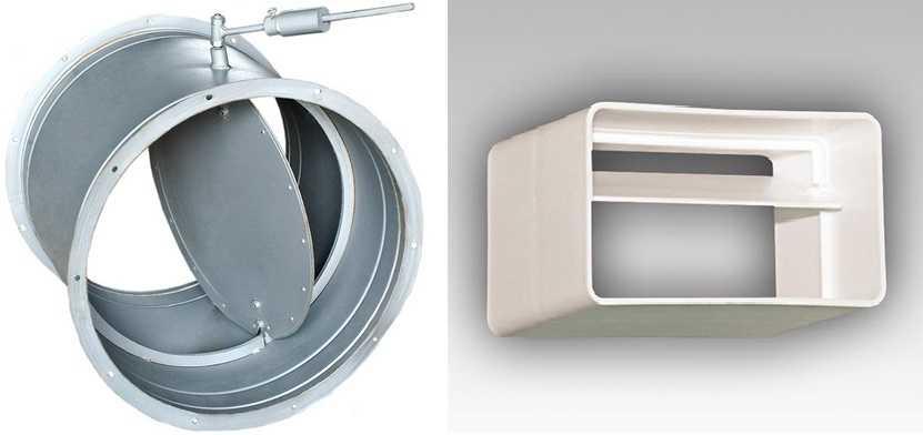 Обратный клапан для вентиляции: разновидности и особенности конструкций
