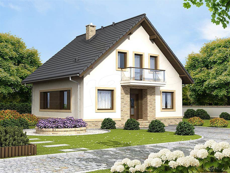 Проект недорогого дома из пеноблоков – как затратить на строительство меньше средств