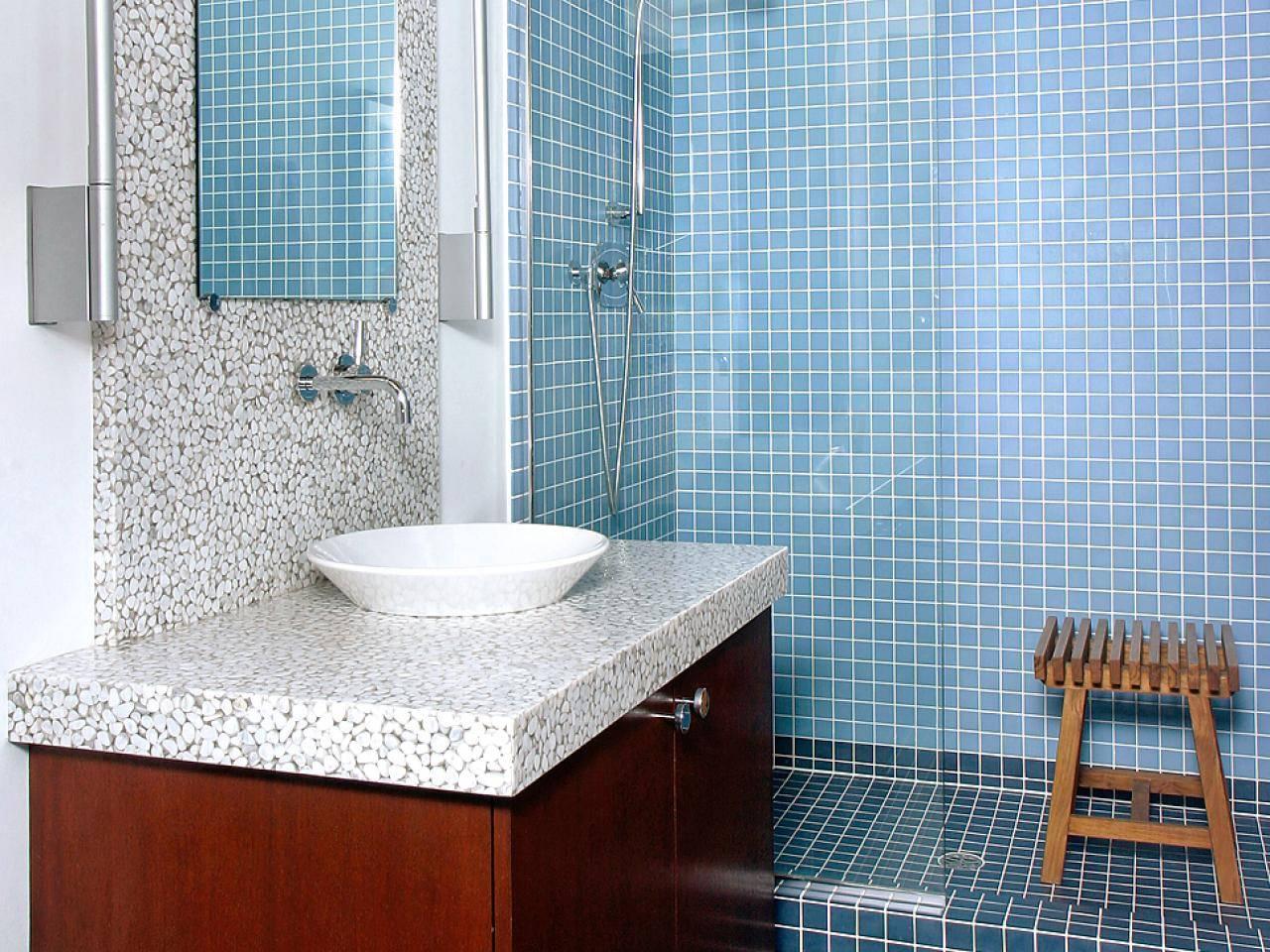 Отделка стен в ванной комнате: обзор материалов (+ фото)