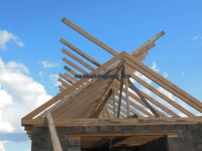 Как быстро и правильно построить крышу дома своими руками