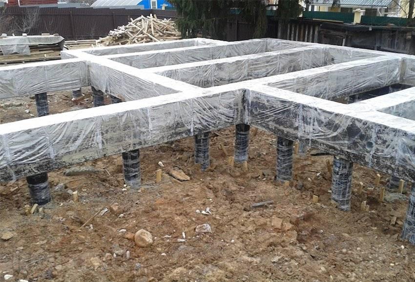 Как сделать сваи из бетона для фундамента