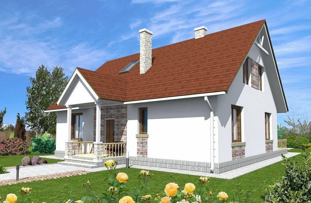 Строительство комбинированного дома из газобетона и каркаса в санкт-петербурге под ключ