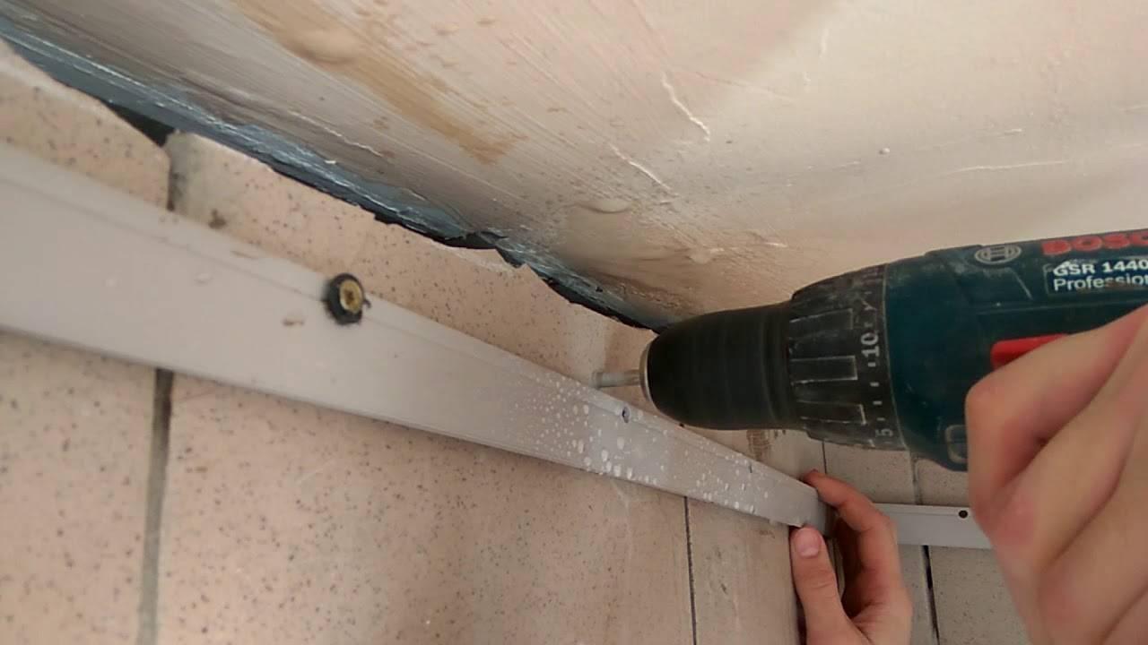 Как сделать отверстие или дырку в натяжном потолке для обвода трубы