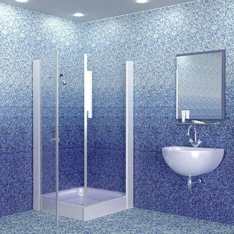 Плитка пвх для ванной комнаты на стены: фото, установка