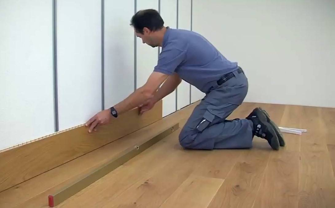 Отделка стен ламинатом. как крепить ламинат на стену? | строительный блог вити петрова