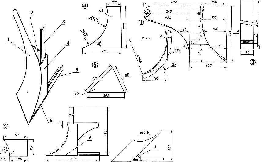 Плуг своими руками: инструкции и 70 фото оптимальных моделей