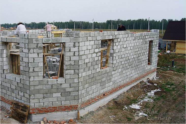 Как высчитать стоимость постройки дома из пеноблоков своими руками. расчет материалов. возведение фундамента и стен