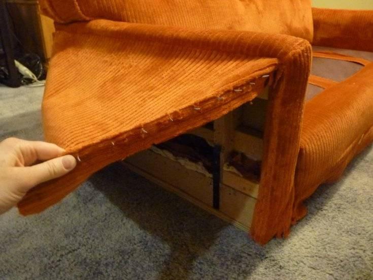 Как перетянуть диван своими руками: пошаговая инструкция +75 фото