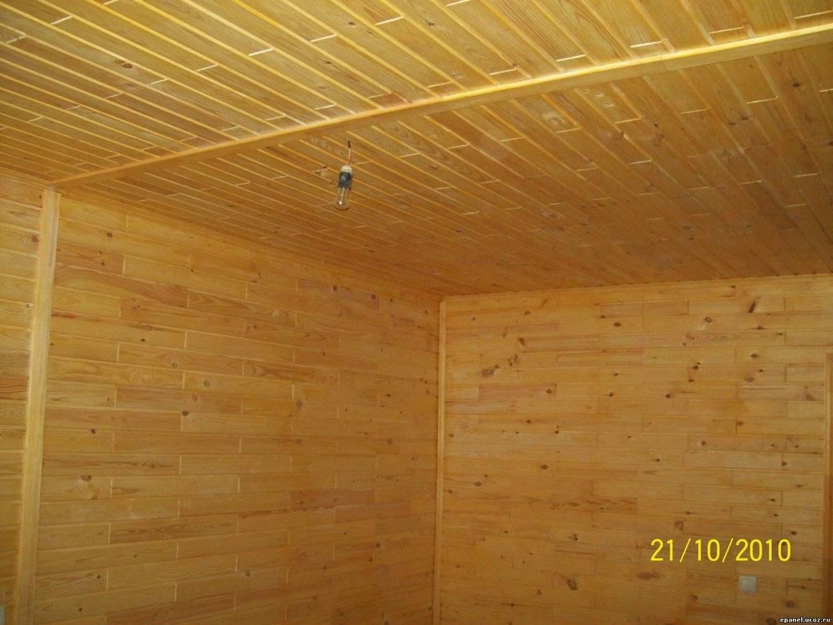 Монтаж вагонки на потолок своими руками и стоимость обшивки