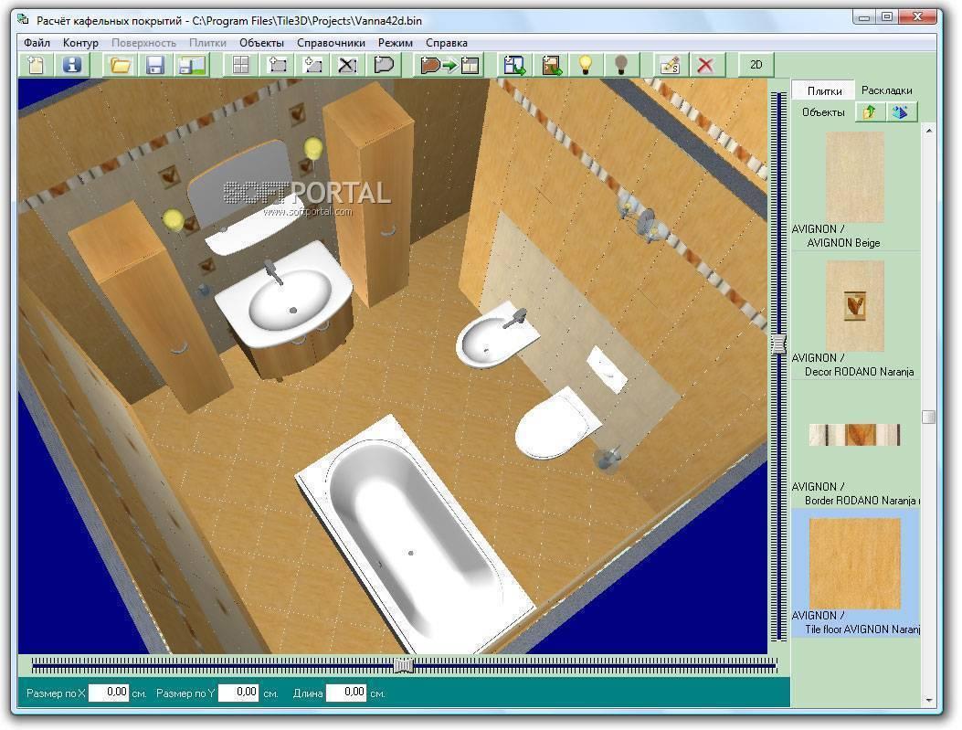 Обзор программ-калькуляторов для раскладки плитки, преимущества и недостатки