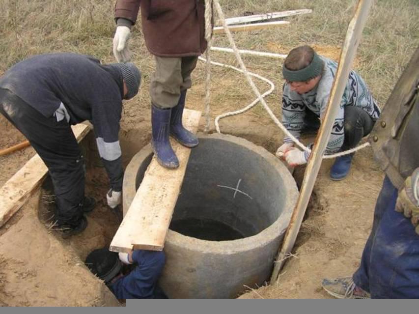 Как выкопать колодец под воду одному правильно: сколько стоит, видео-инструкция по монтажу своими руками, фото