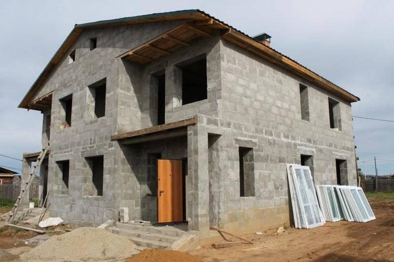 Дом из полистиролбетона монолитный своими руками
