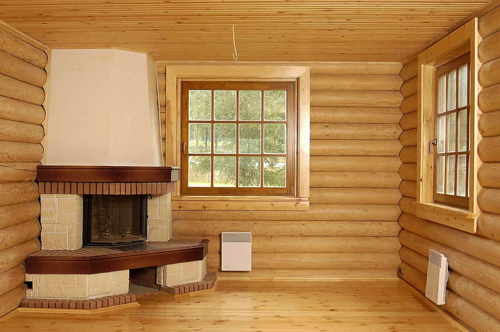 Отделка «блок-хаусом» внутри дома: идеи дизайна и способы монтажа