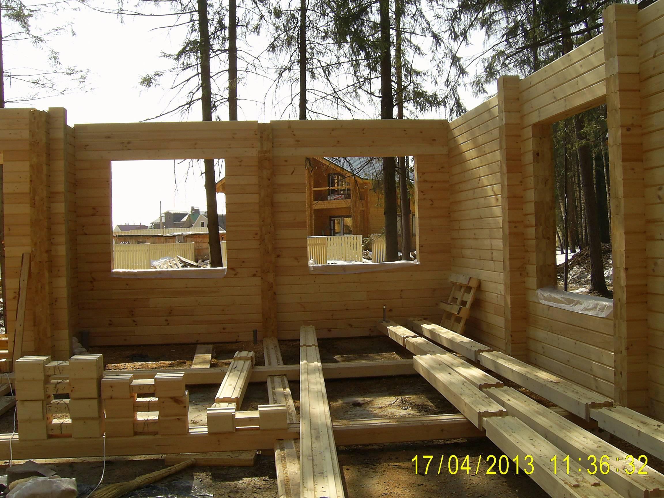 Дом мечты из клееного бруса: нюансы строительства и технология изготовления — дом и сад