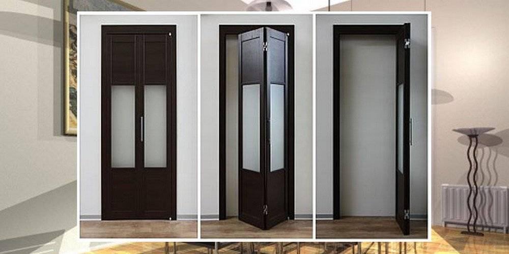 Установка складной двери-гармошки своими руками