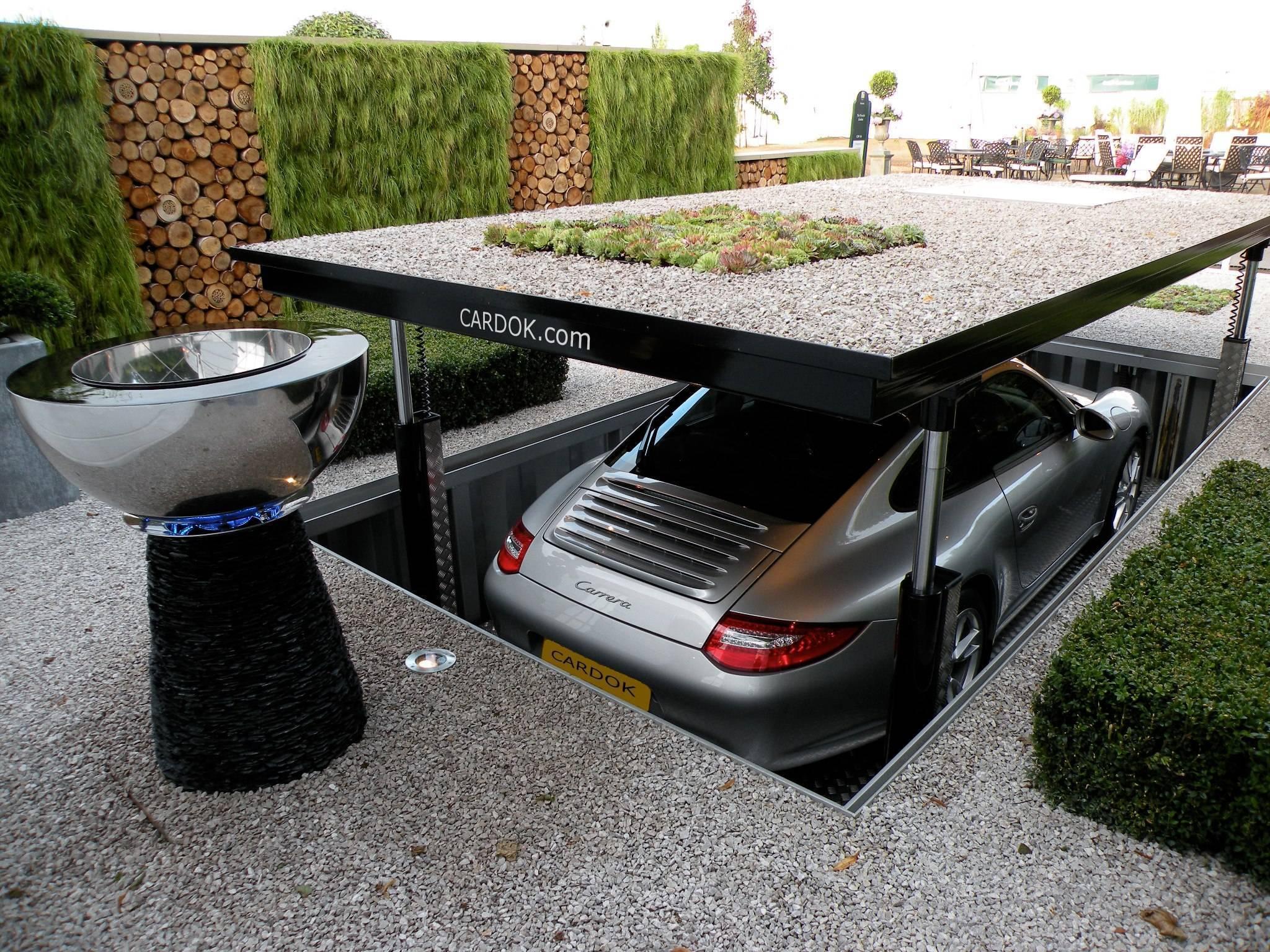 Площадка для автомобиля на даче своими руками: виды парковок, плюсы, минусы и этапы строительства