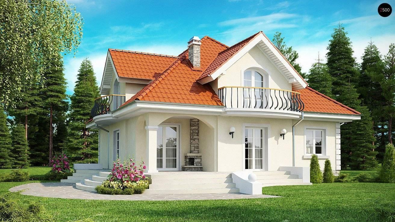 Проекты домов и коттеджей с мансардой: планировки с чертежами и фото