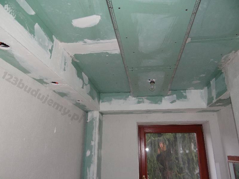 Одноуровневый потолок из гипсокартона, инструкция быстрого монтажа