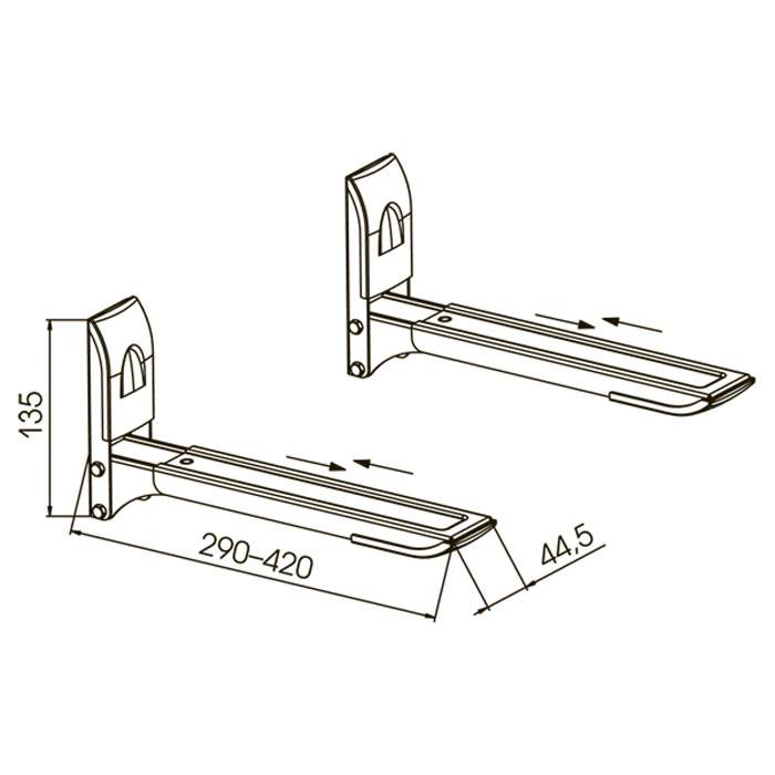 Крепление для микроволновки на стену: полки, кронштейны, подвесы