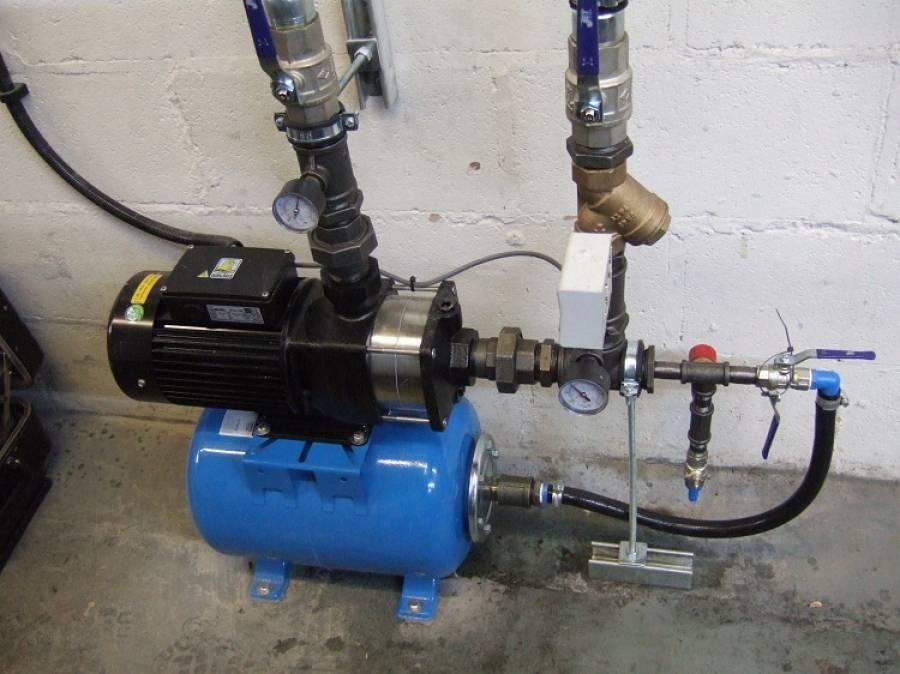 Насос для повышения давления воды - виды, выбор, способ установки