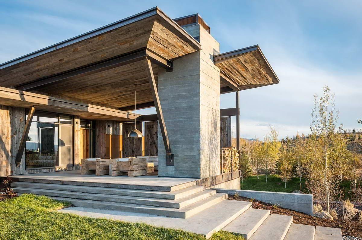Дом со стеклянными стенами — необычное дизайнерское решение