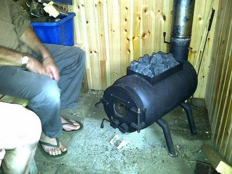 Печка для гаража своими руками - инструкция!