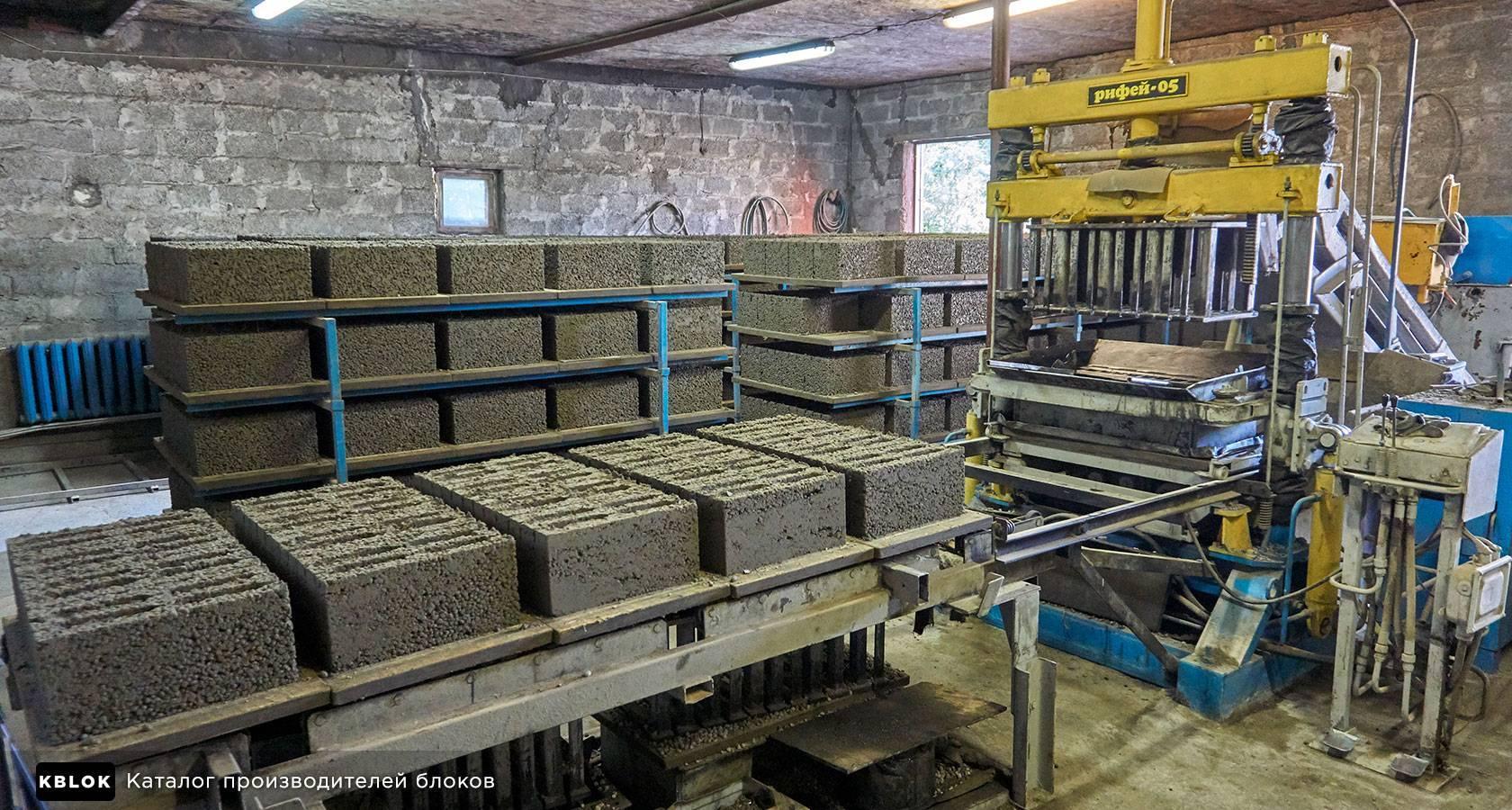 Керамзитобетонные блоки своими руками: изготовление, оборудование, пропорции (видео)