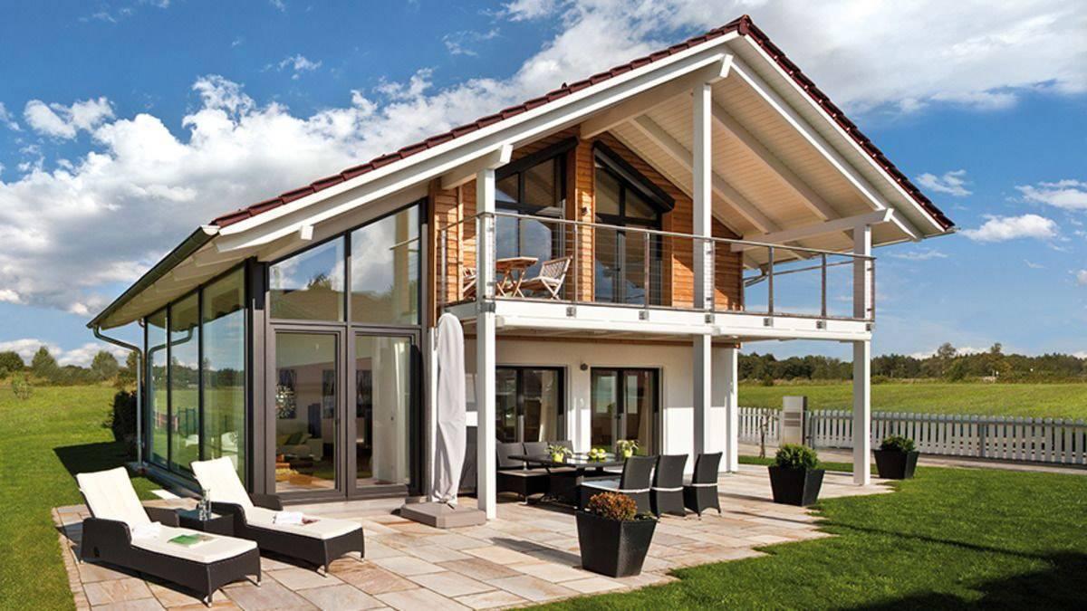 Дом с панорамными окнами - 120 фото лучших проектов для загородного дома