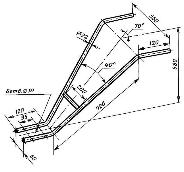 Как сделать плуг для минитрактора своими руками, сравнение цены на самодельный и заводской