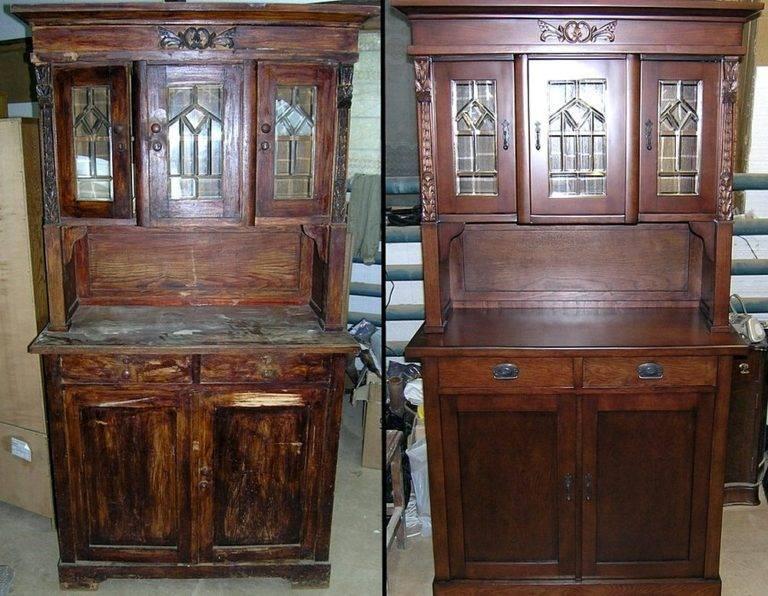 ➤ как реставрировать мебель: полированную, шпонированную, деревянную | мы строители ✔1