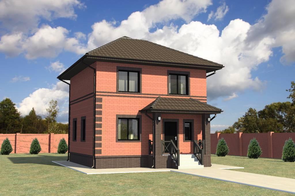 Проекты маленьких кирпичных домов