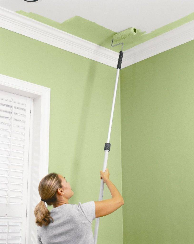 Стоимость покраски стен и потолков за м2 - услуги частного мастера
